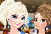 game Frozen Sisters In The Cinema