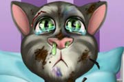 Fynsy's hospital talking Tom