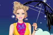 game Halloween Barbie Dress Up
