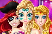 game Halloween Princess Party