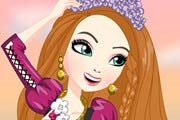 game Holly O'Hair Dress Up