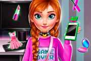 game Ice Princess Anna: Geek Fashion