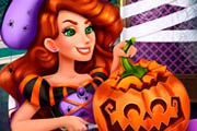 game Jessie`s Halloween Pumpkin Carving