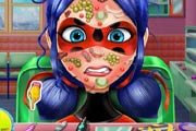 Ladybug Face Skin Surgery Game