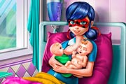 game Ladybug Twins Birth