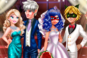 game Ladybug Wedding Royal Guests