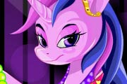game Little Twilight Pony Makeover
