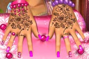 game Manicure For Rapunzel