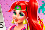game Mermaid Princess 80s Diva