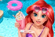 game Mermaid Princess Pool Time