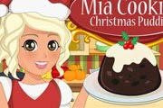 game Mia Cooking Christmas Pudding