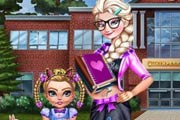 Modern Sister School Dressup Game