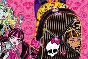 game Monster High Backpack Design
