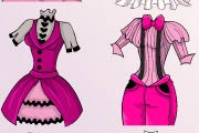 game Monster High Draculaura`s Hairstyle