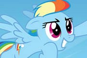 My Little Pony Rainbow Dash Flies Puzzle