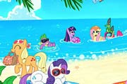 game My Little Pony Sea Beach Puzzle