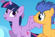 game My Little Pony Twilight Sparkle And Flash Sentry Puzzle
