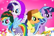 My Little Pony Winter Fashion Game