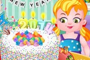 game New Year Confetti Cake