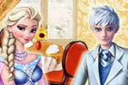 game Perfect date Elsa and Jack Frost