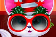 game Pet Cat Christmas Makeover