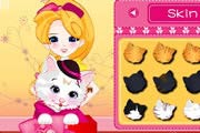 Pet Kitty in Gift Box Game
