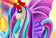 game Pony Princess Hair Care