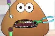 game Pou Bad Teeth