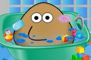 game Pou Bath And Care