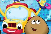 game Pou Car Wash