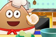 game Pou Cooking Raffaello