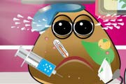 game Pou Got Varicella