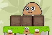 game Pou Puzzle Jelly World