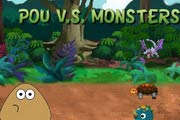 game Pou Vs Monsters