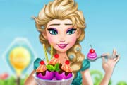 game Pregnant Elsa Ice Cream Cravings