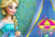 game Pregnant Elsa Nursery Decor