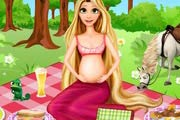 game Pregnant Rapunzel Picnic Day
