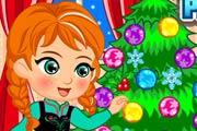 game Princess Anna Christmas Slacking