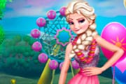 game Princess Elsa Birthday Shopping