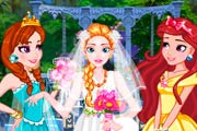 game Princess Garden Wedding