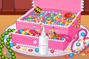 Princess Jewelry Box Cake Game