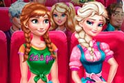 game Princesses Anna And Elsa Frozen: Weekend Activities