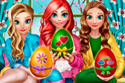 game Princesses Easter Fun