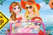 Princesses Road Trip Game