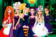 game Princesses Trick Or Treat