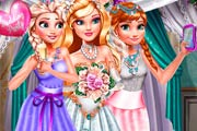 game Princesses Wedding Selfie