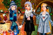 Princesses Winter Fun Game