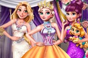 Princesses Winter Gala Game