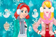 game Princesses Winter Spree