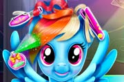 game Rainbow Pony Real Haircuts